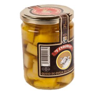 Queso de Hinojosa en aceite de oliva