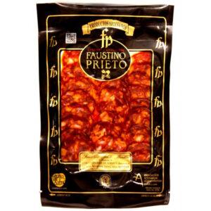 Chorizo ibérico de bellota loncheado